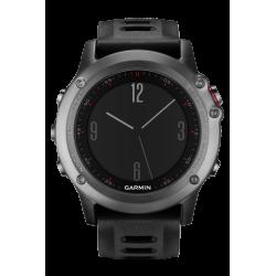 Спортивные часы FENIX 3 серый с черным ремешком